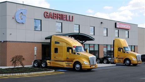 kenworth dealer nj gabrielli kenworth celebrates grand opening of its