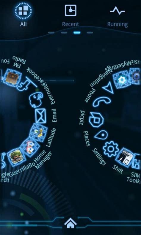 theme kpop para android tema con aspecto futurista con fondos oscuros y detalles