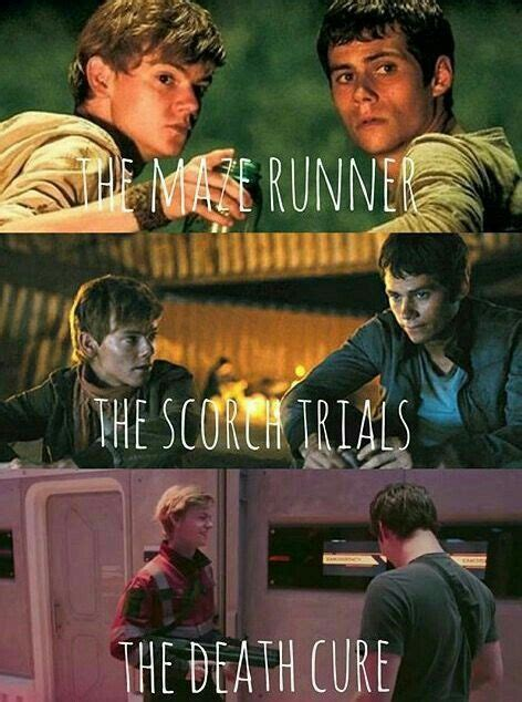 libro killing and dying i absolutely love these movies except death cure when newt dies maze runner cast