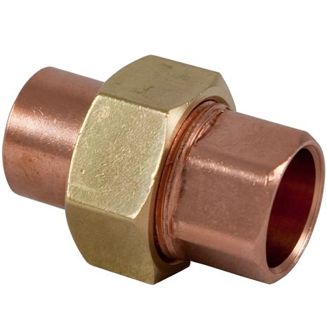 Union Fitting Plumbing by Shop Nibco 1 2 In X 1 2 In Copper Slip Union Fittings At