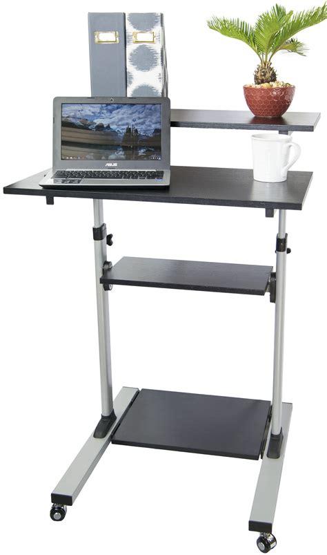 eureka ergonomic height adjustable standing desk adjustable stand up desk uptrak dual level standing desk