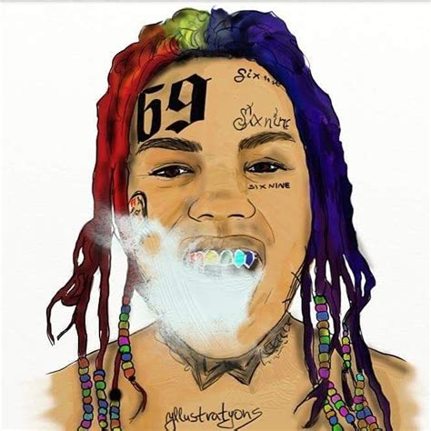 6ix9ine drawing tekashi69 6ix9ine tekashi69 pinterest wallpaper