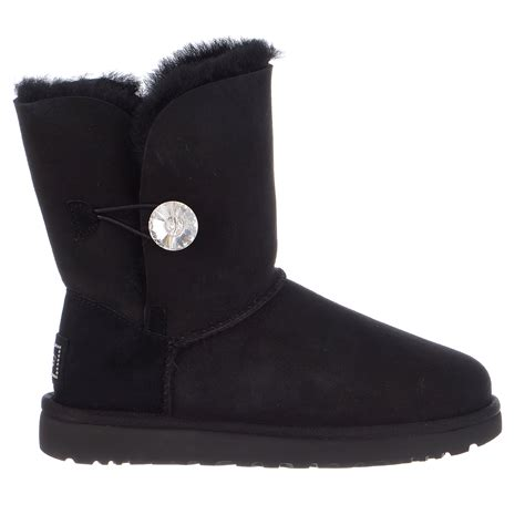 boot bling ugg australia bailey button bling boot womens ebay