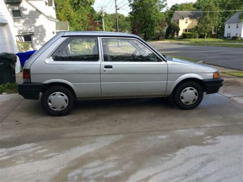 how petrol cars work 1993 subaru justy engine control subaru justy barn find classic for sale subaru justy 1993 for sale in springfield