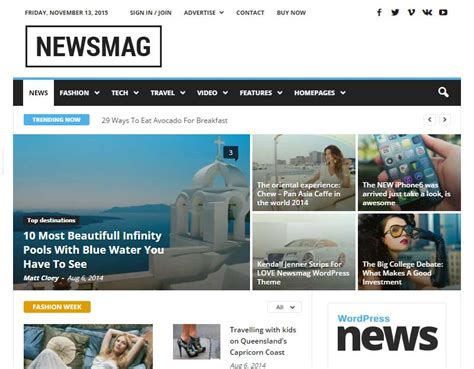 newsmag theme how to create a successful magazine website