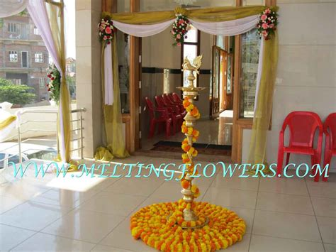Engagement Decoration Ideas At Home | unique home decorations withal simple indian wedding