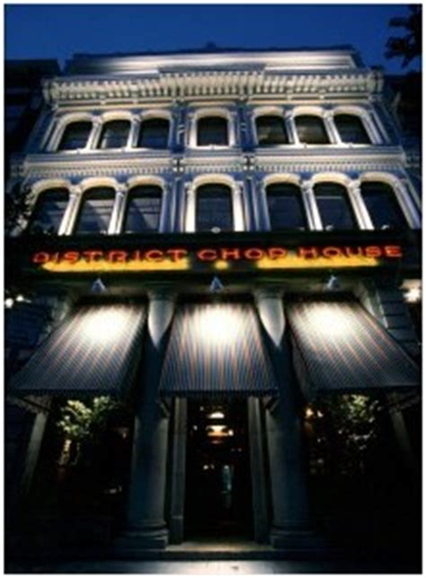 chop house dc experience