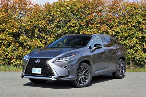 lexus rx 350 2017 lexus rx 350 f sport the car magazine