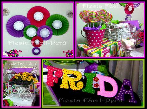 Fiesta Facil by Fiesta Facil Peru Flores Y Mariposas Para Frida