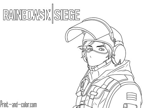 Pubg Coloring Pages by Rainbow Six Siege Coloring Pages Print And Color