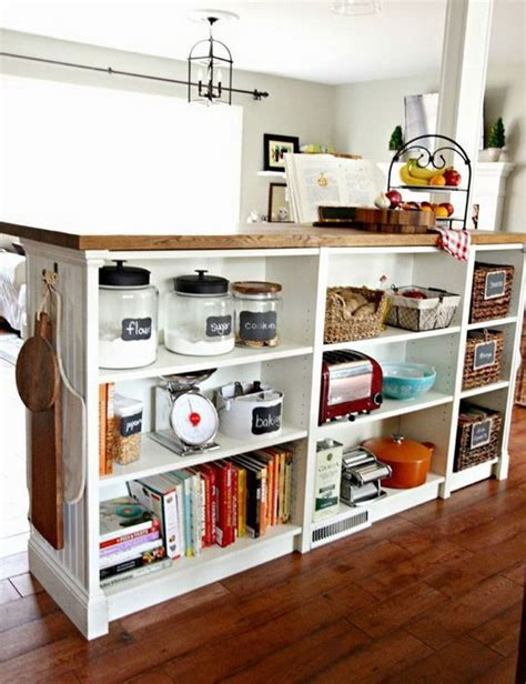 Diy Ikea Kitchen Island by 25 Ikea Billy Hacks That Every Bookworm Would Love Hative
