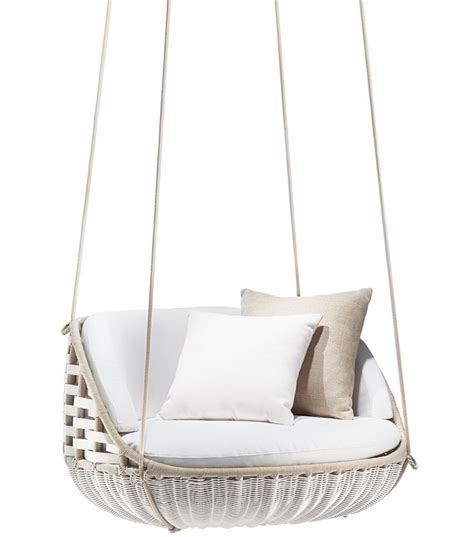 swing me swingme dedon lounge chair milia shop