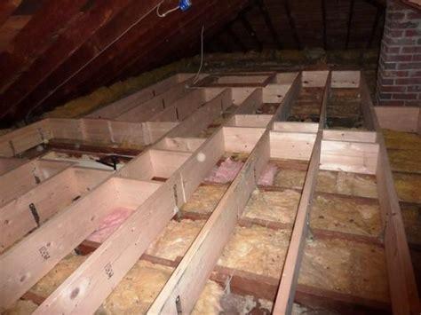 Room Addition Floor Plans raise attic floor over wires with 2x2s doityourself com
