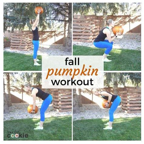 fall pumpkin workout the fit cookie