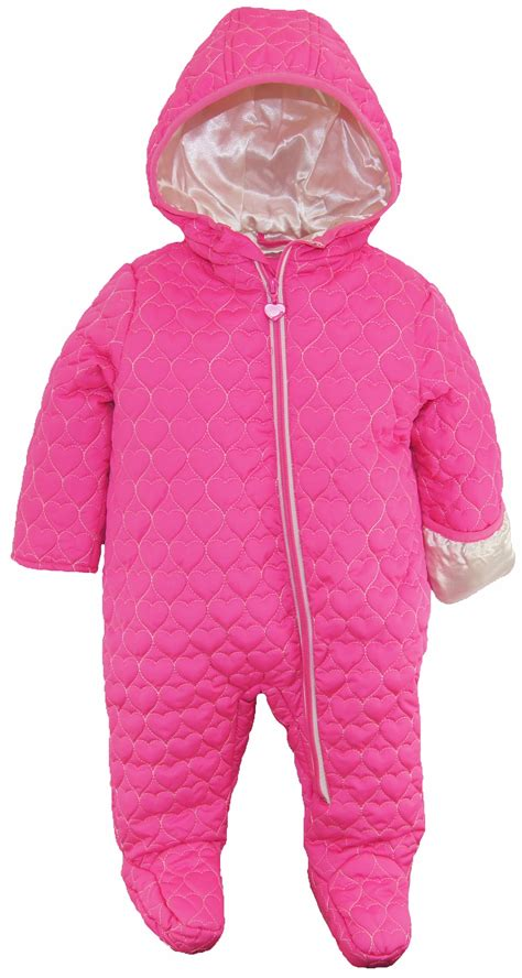 Quilted Snowsuit For Baby by Wippette Baby Footed Quilted Jacket Winter