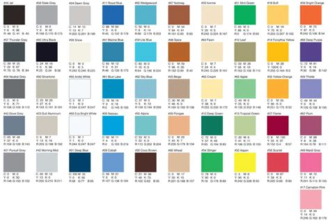 cmyk color chart what are the cmyk or pantone equivalent colours buying