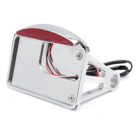 motorcycle license plate bracket with light motorcycle license plate led tail light horizontal