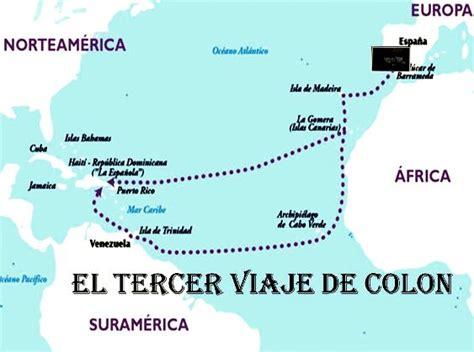 rutas de los barcos de cristobal colon tercer viaje de crist 243 bal col 243 n cristobal col 243 n