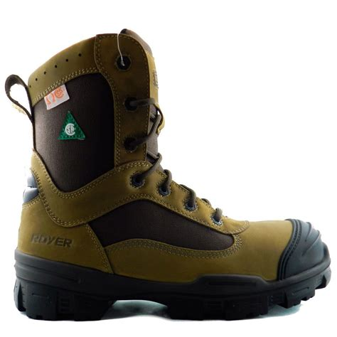 Sepatu Boot Safety Kickers Atambua Steel Toe royer 10 6220 csa metal free safety boots composite toe plate brown