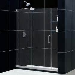 sliding doors shower frameless sliding glass shower eyeglasses
