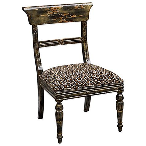 Leopard Print Accent Chair Buy Uttermost Tambra Leopard Print Accent Chair From Bed Bath Beyond