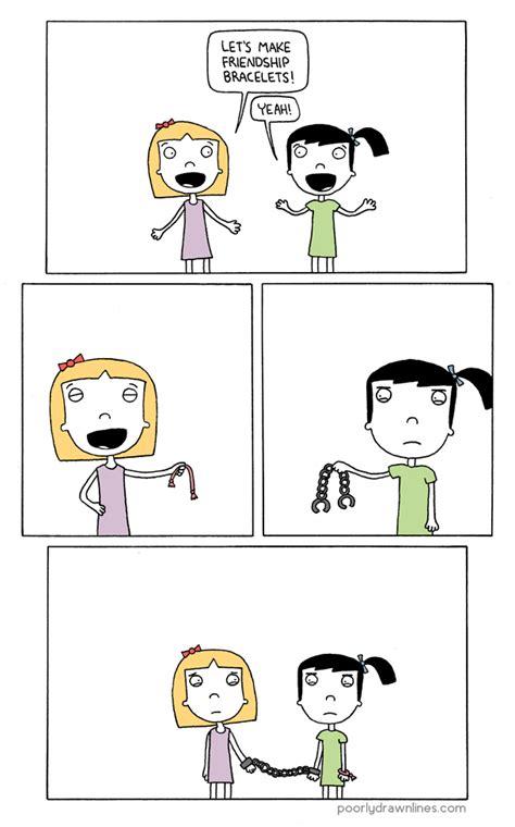 friends imagenes comic de friends poorly lines friendship bracelets