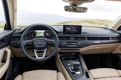 Audi A4 Interior by 2017 Audi A4 First Drive Review Motor Trend