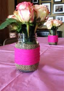 Baby Shower Floral Centerpiece Idea » Home Design 2017