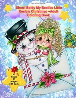 sherri baldy my besties rosie s coloring book books omalov 225 nky pro dosp茆l 233