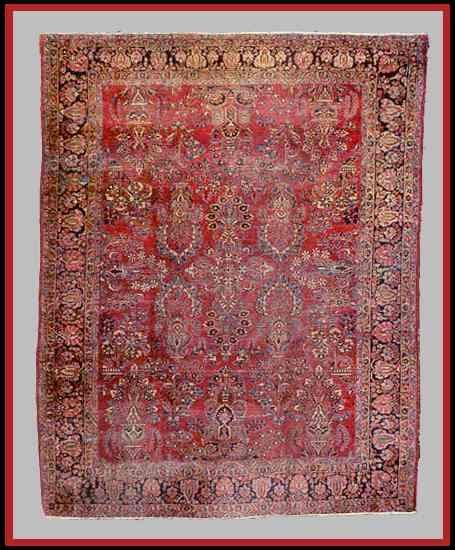 Antique Sarouk Sarough Rugs Carpets Guide Rugs Guide