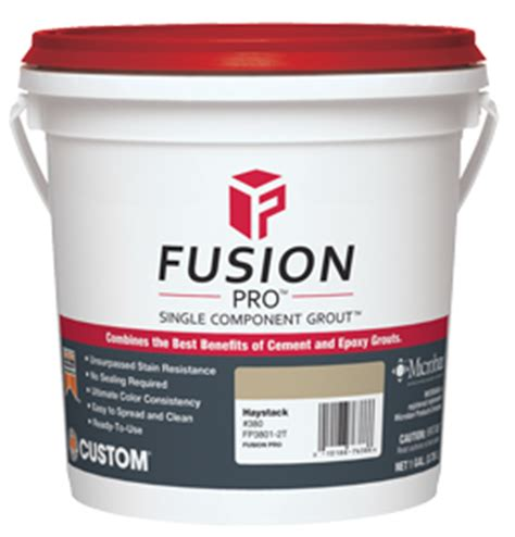 fusion pro grout colors stain resistant grout fusion pro custom building products