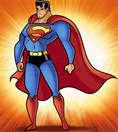 Superman Drawings how to draw superman step by step dc comics comics