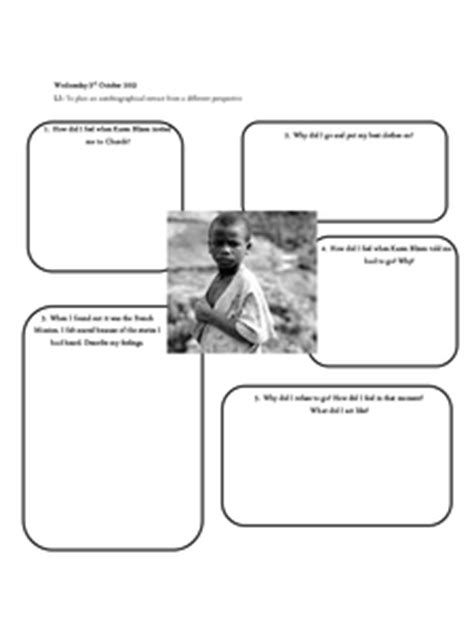 biography unit ks2 year 6 biography autobiography 3 week unit by