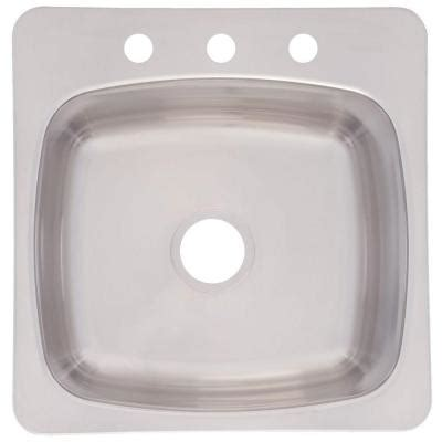 franke prep sink frankeusa top mount stainless steel 20 in 3 single
