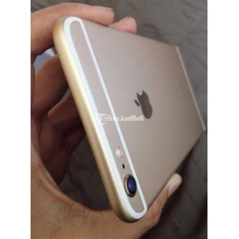 Apple Iphone 6 Plus 64gb Gold Second Mulus iphone 6 plus 64gb second warna gold harga murah 7 jutaan