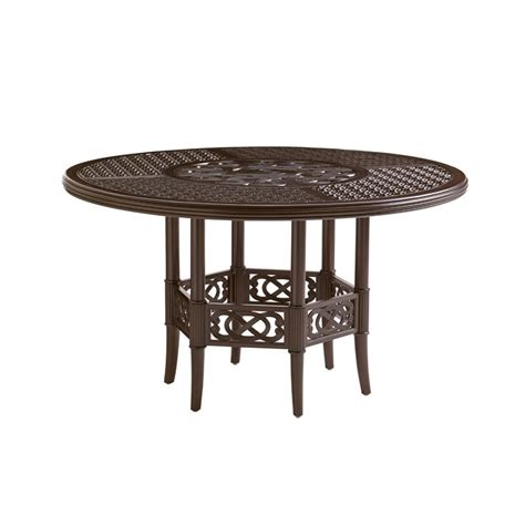 bahama dining table bahama black sands 54 quot patio dining table in
