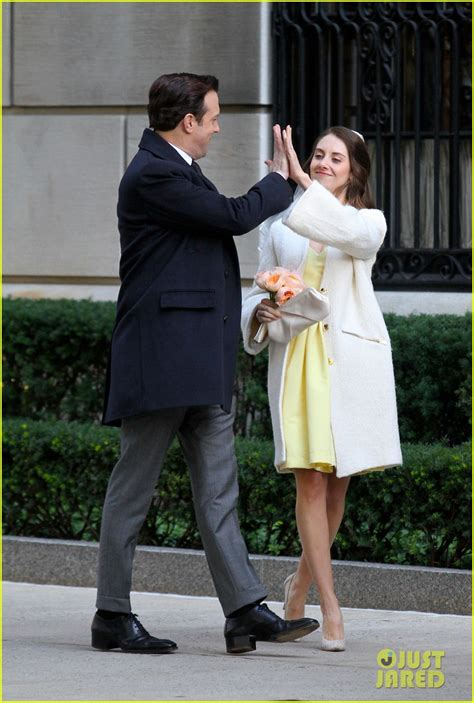 alison brie wedding full sized photo of jason sudeikis alison brie get married