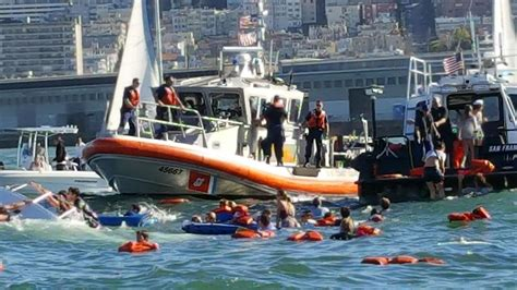 boat capsized 5 year old critical after boat capsizes off san francisco