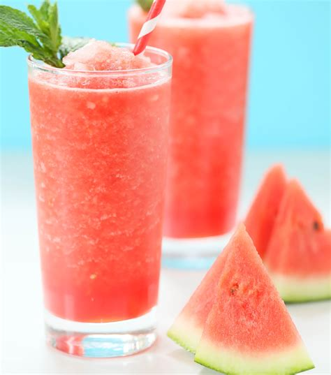 watermelon recipe watermelon slushie recipe