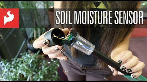 sparkfun soil moisture sensor youtube