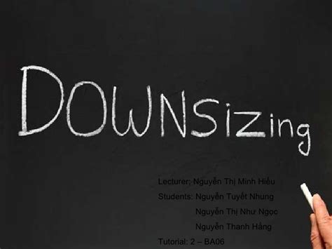 downsizing definition downsizing d 233 finition what is