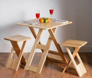 30 space saving folding table design ideas for functional