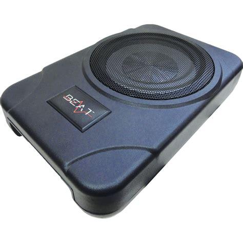 truck speakers seat beat bsw8act 8 quot seat active car audio subwoofer ebay