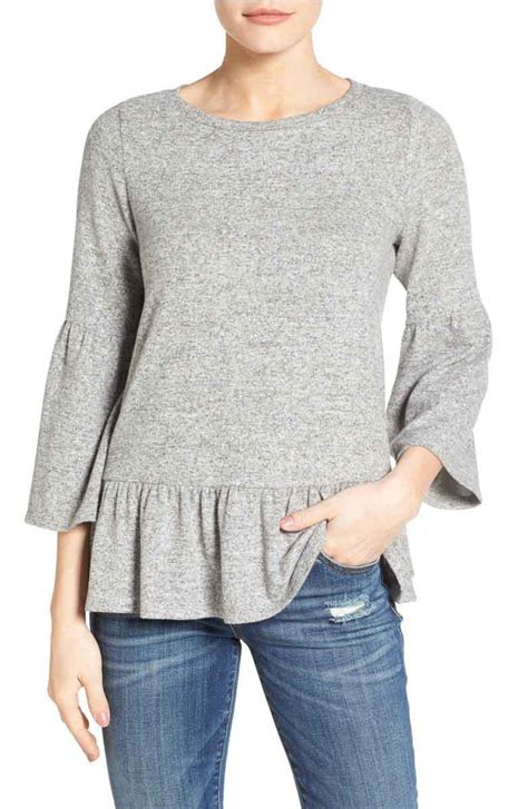 Bell Sleeve Top Original trendy bell sleeve tops 50 for 2017