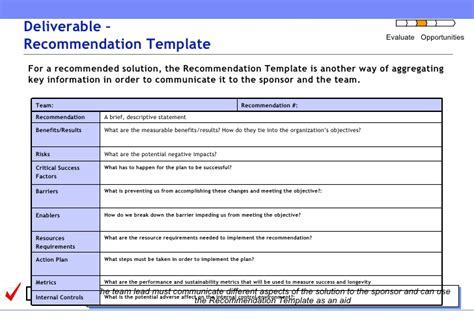 change process template sanitized knowledge transfer deliverable rapid process