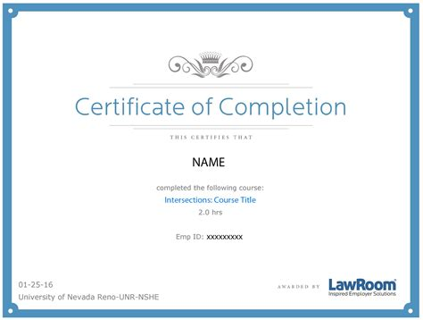 Ceu Certificate Of Completion Sle Pictures To Pin On Pinterest Pinsdaddy Ceu Certificate Of Completion Template