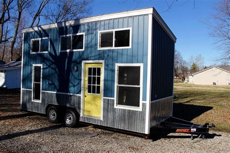 tiny house manufacturers yellow chic shack tiny house on wheels