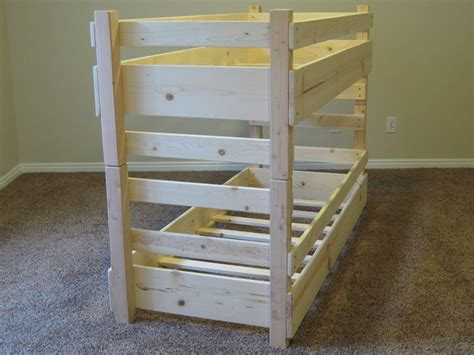 toddler bunk beds plans toddler bunk bed plans bed plans diy blueprints