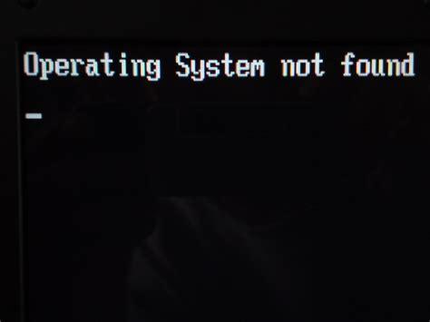 blog not found betriebssystem nicht gefunden wie kann ich dieses problem