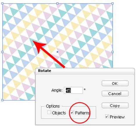pattern options illustrator illustrator tip 12 transform pattern illustrator